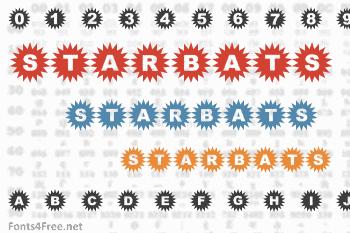 Starbats Font