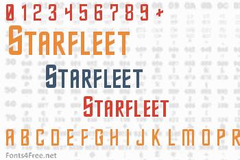Starfleet Font