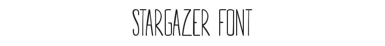 Stargazer Font Preview