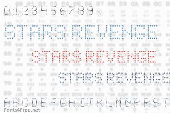 Stars Revenge Font
