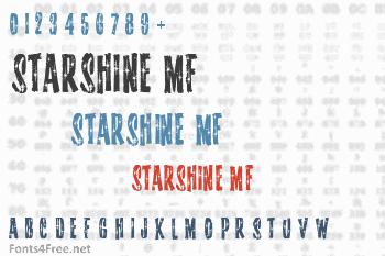 Starshine MF Font