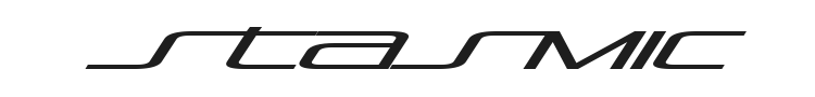 Stasmic Font Preview