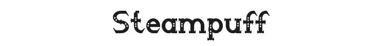 Steampuff Font