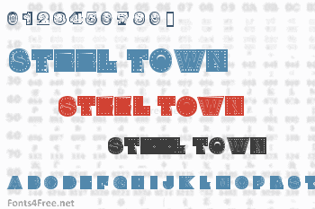 Steel Town Font