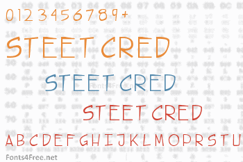 Steet Cred Font
