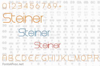 Steiner Font