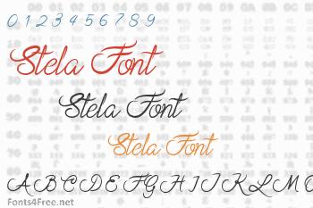 Stela Font