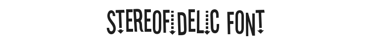 Stereofidelic Font Preview