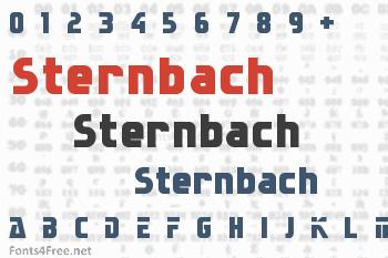 Sternbach Font