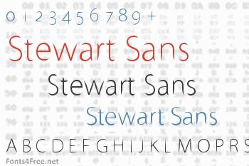 Stewart Sans Font