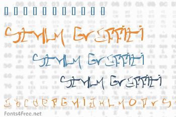 STHLM Graffiti Font