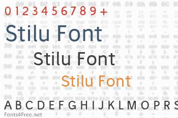 Stilu Font
