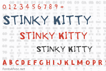 Stinky Kitty Font