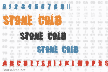 Stone Cold Font