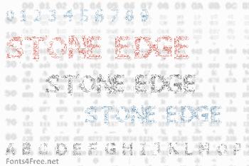 Stone Edge Font