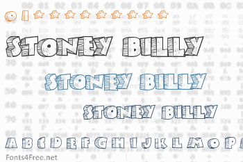 Stoney Billy Font