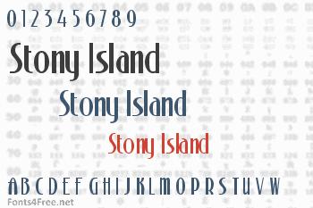 Stony Island Font