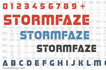 Stormfaze Font