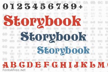 Storybook Font
