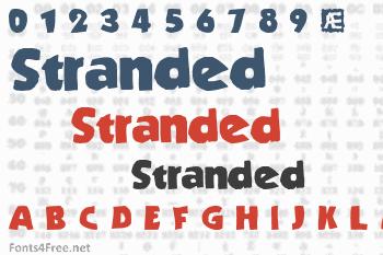 Stranded Font