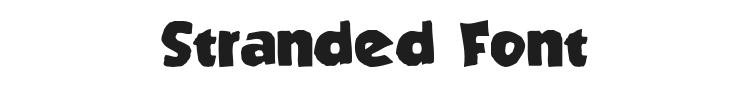 Stranded Font Preview