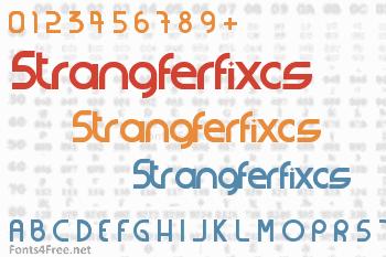 Strangferfixcs Font