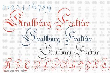 Strassburg Fraktur Font