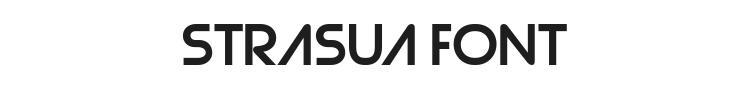 Strasua Font Preview