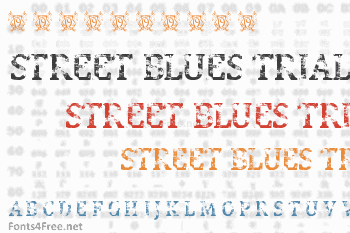 Street Blues Trial Font