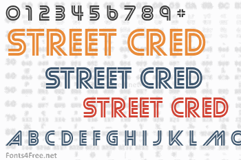 Street Cred Font
