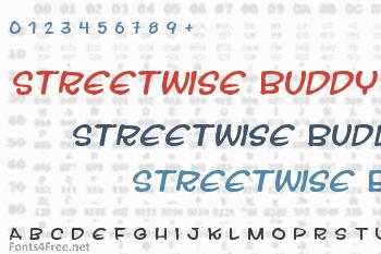 Streetwise Buddy Font