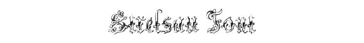 Strelsau Font Preview