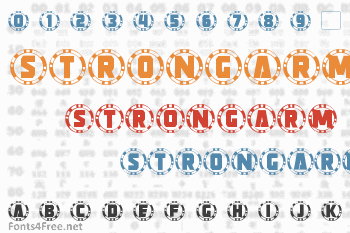 Strongarm Caps Font