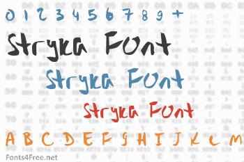 Stryka Font