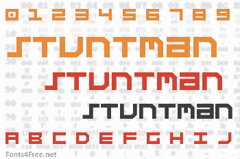 Stuntman Font