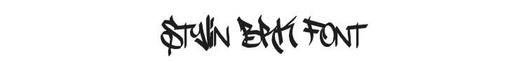 Stylin BRK