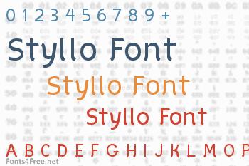 Styllo Font