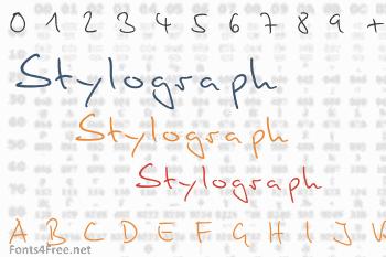 Stylograph Font