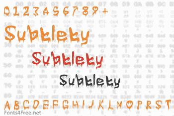 Subtlety Font