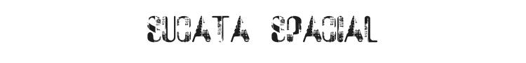 Sucata Spacial Font Preview