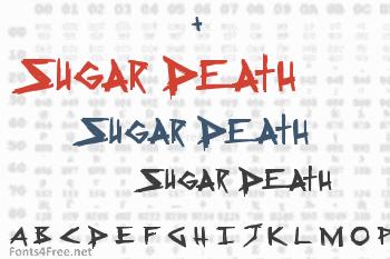 Sugar Death Font