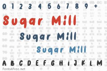 Sugar Mill Font