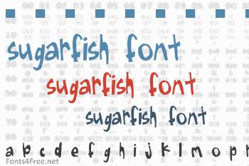 Sugarfish Font