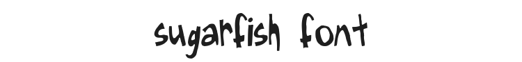 Sugarfish Font Preview
