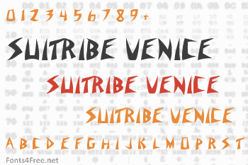 Suitribe Venice Style Font