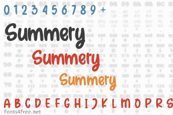 Summery Font