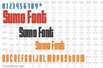 Sumo Font