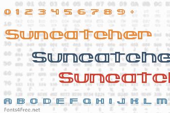 Suncatcher Font