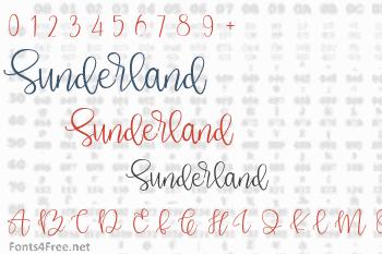 Sunderland Font
