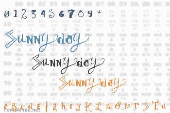 Sunny Day Font